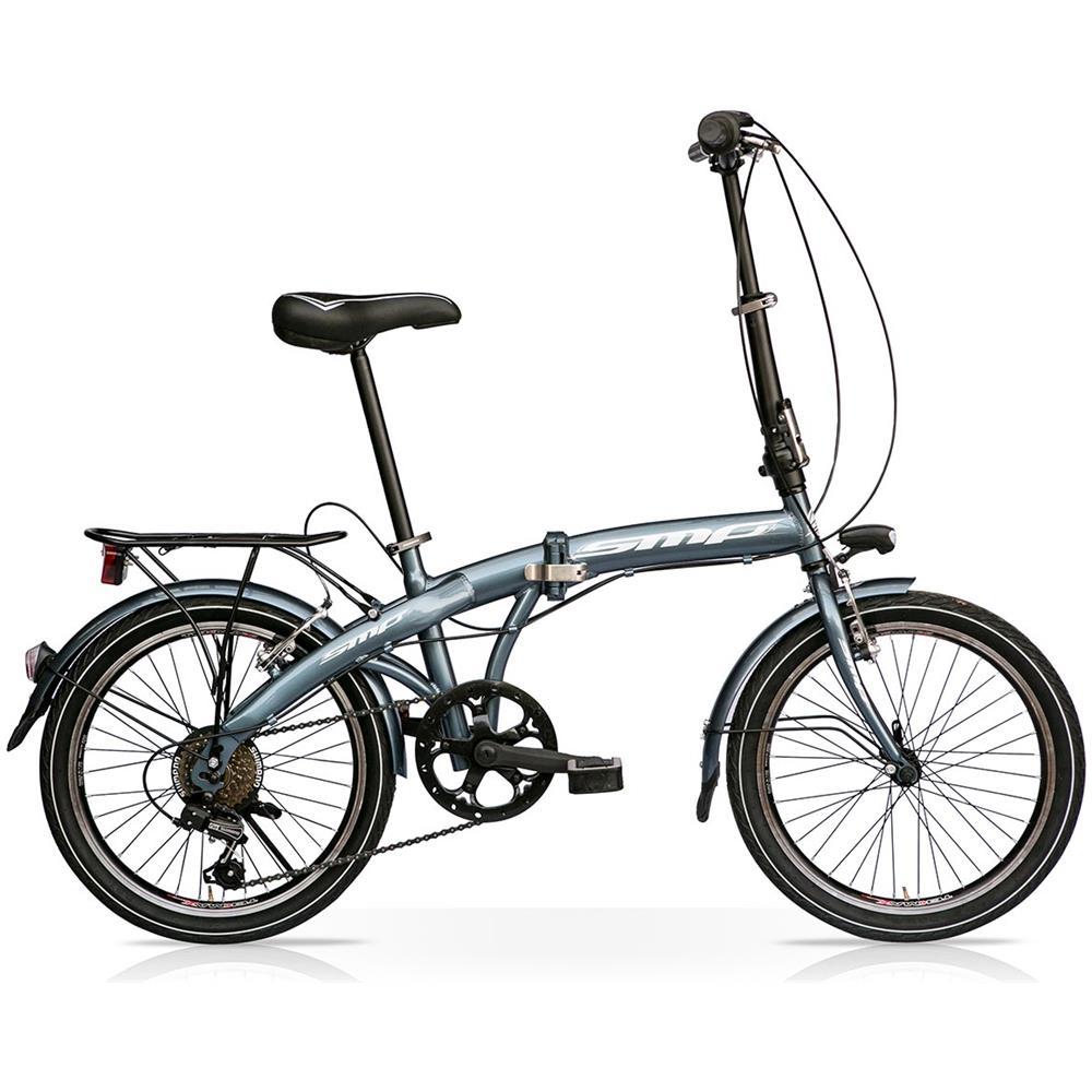 Bici Pieghevole In Alluminio.Speedcross Bici Pieghevole Speedcross 20 6v Antracite