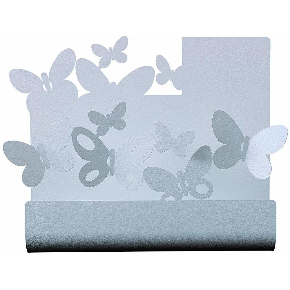 Porta Posta Arti E Mestieri.Arti E Mestieri Porta Posta Butterfly Parete Alluminio