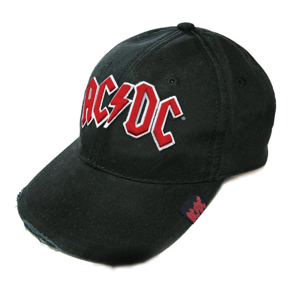 ad746612043a3 ROCK OFF - Ac   Dc - Red On White Logo (Cappello) - ePRICE