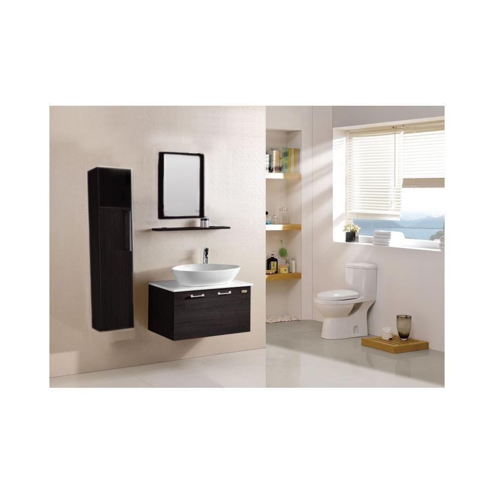 Loyalprice - Mobile Bagno Con Specchio, Mensola E Lavabo Incluso ...