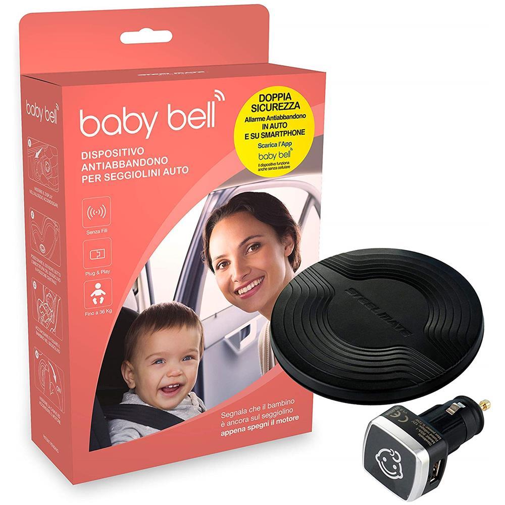 Baby Bell Dispositivo Anti Abbandono Bambino per Seggiolini Auto