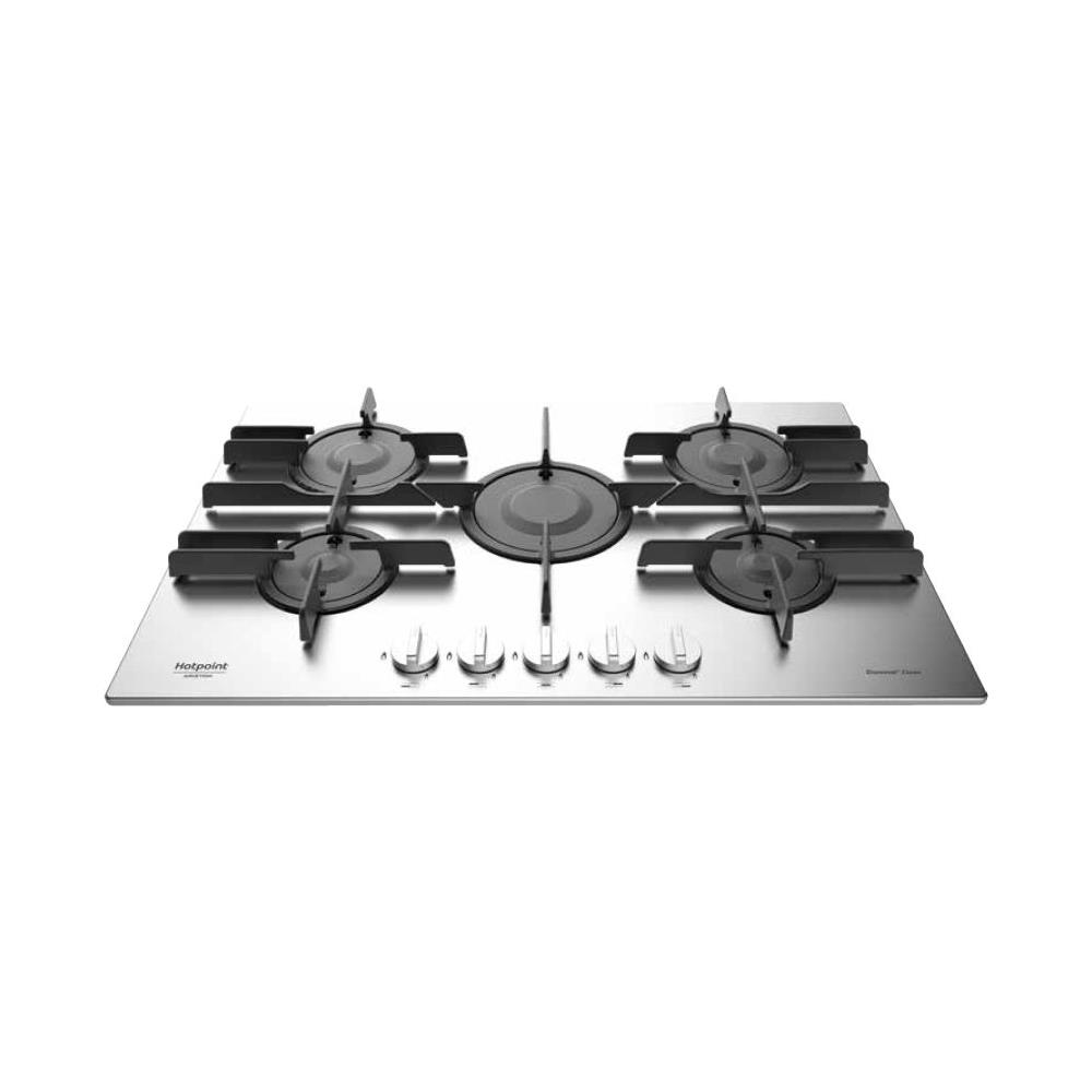 Come Pulire Il Piano Cottura hotpoint piano cottura ftghl751d / ex / ha a gas 5 fuochi gas colore inox