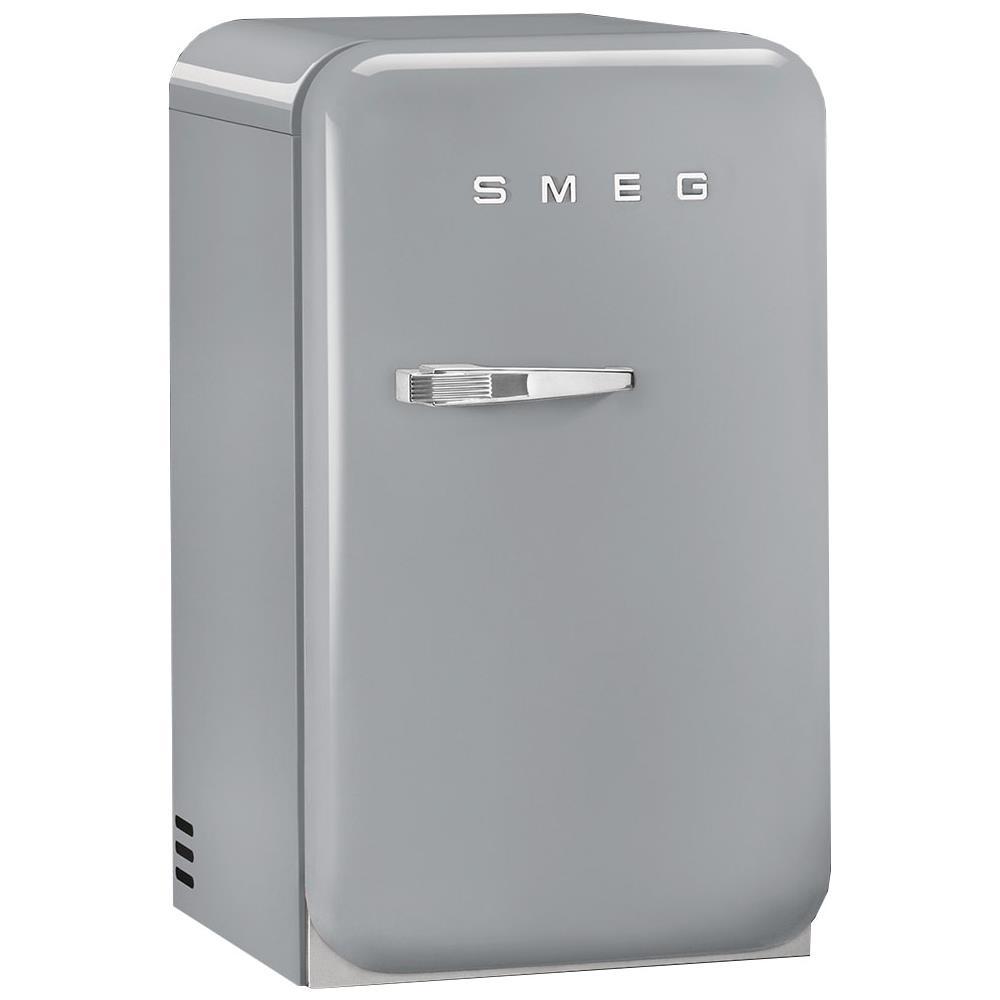 Frigo Smeg Anni 50 Piccolo smeg frigorifero da tavolo fab5rsv serie anni '50 classe d capacità lorda /  netta 33 / 31 litri colore argento