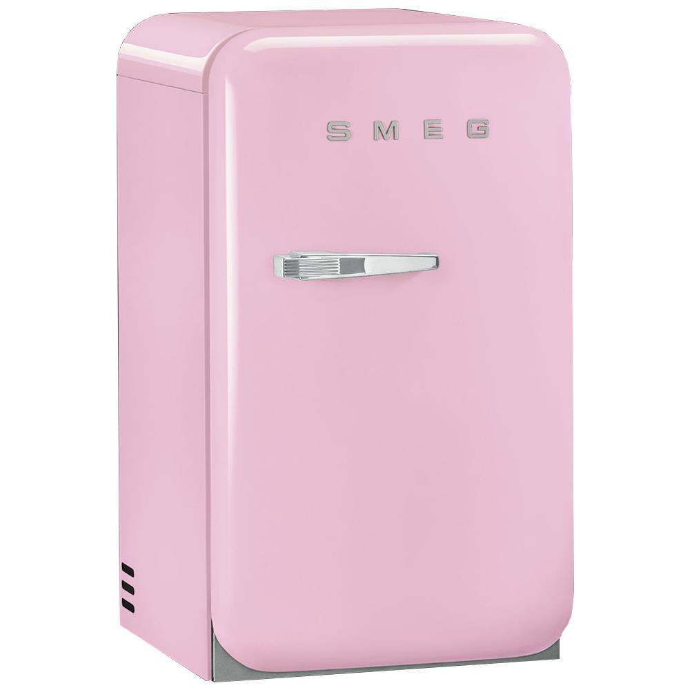 Frigo Smeg Anni 50 Piccolo smeg frigorifero da tavolo fab5rpk serie anni '50 classe d capacità lorda /  netta 33 / 31 litri colore rosa