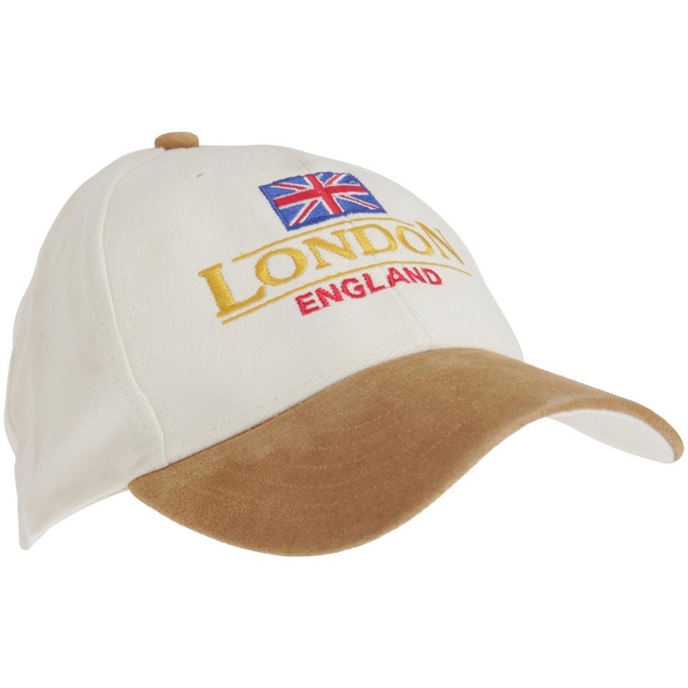 Universal Textiles London England Cappellino Da Baseball London Unisex ( taglia Unica) (crema   marrone Chiaro) 1df58c2072d1