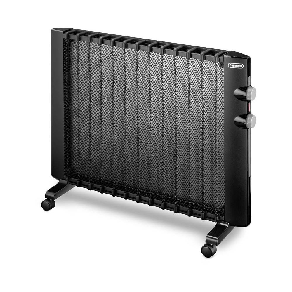Pannelli Radianti Al Posto Dei Termosifoni de longhi hmp2000 pannello radiante potenza 2000 watt colore nero