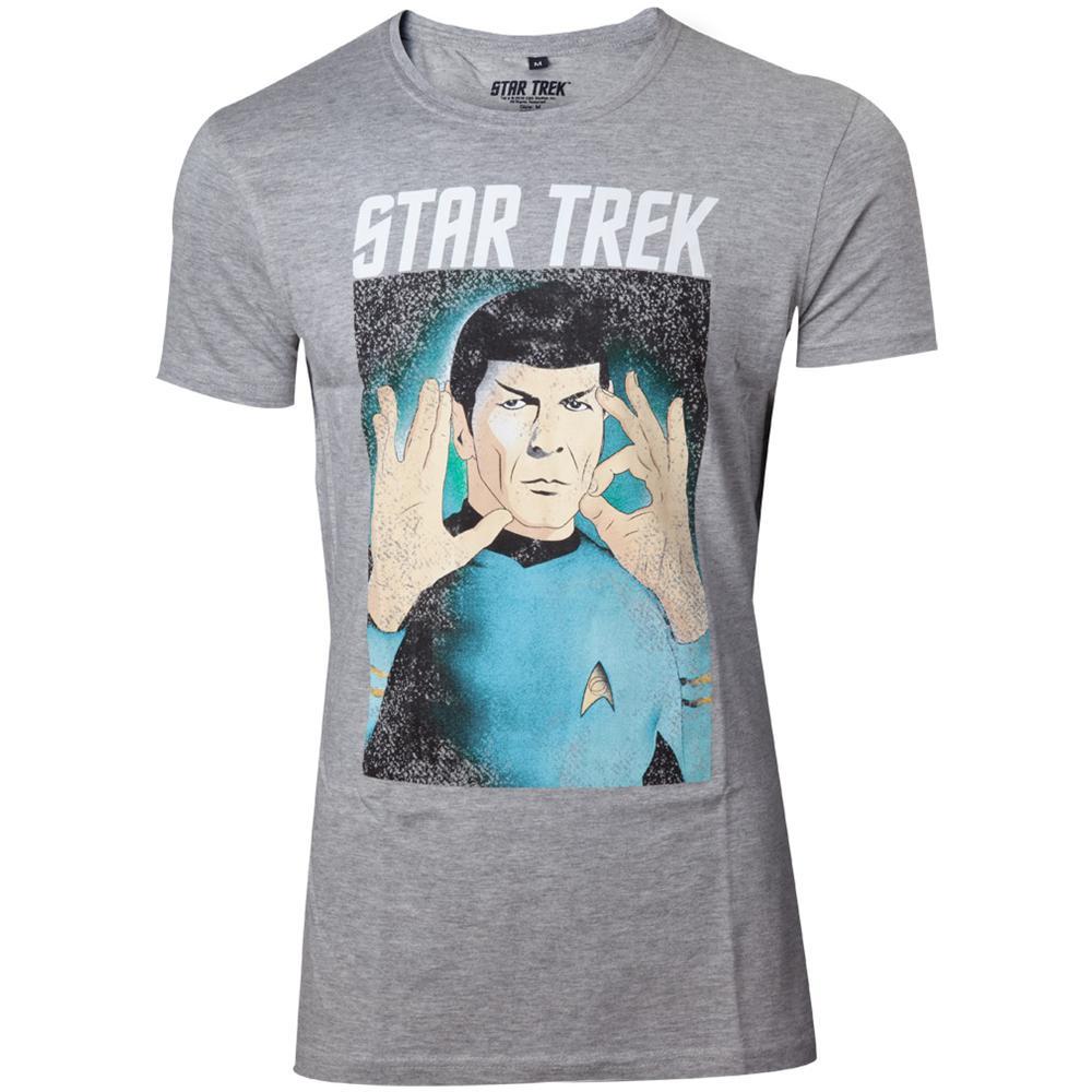 Star Trek - Respect The Logic (T-Shirt Unisex Tg. M)