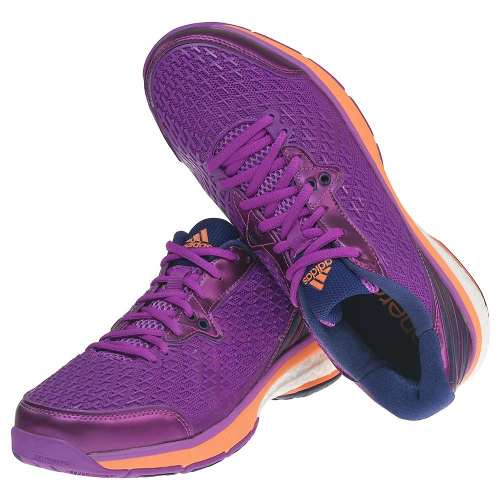 super popular 2e7c0 072fb Adidas Energy Boost Volley W Fucsia arancione Fluo - Scarpe Donna Uk 5,5