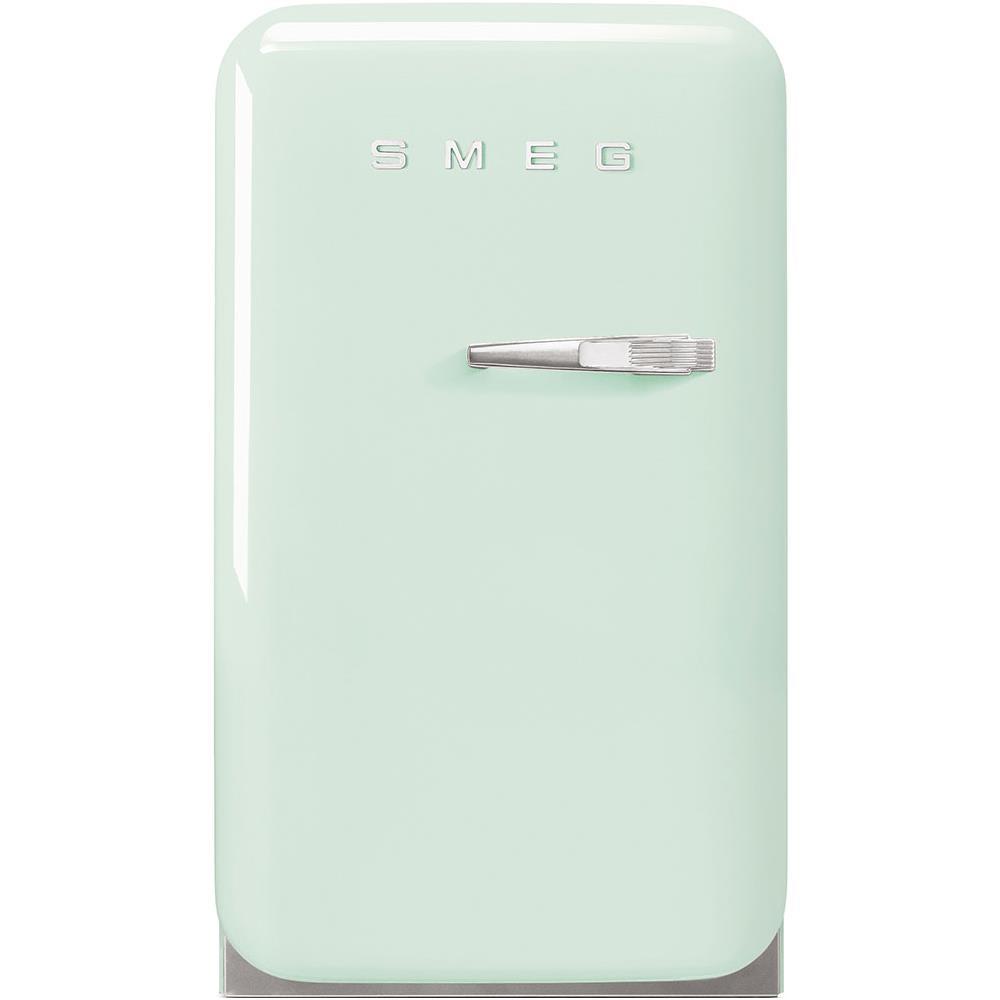 Frigo Smeg Anni 50 Piccolo smeg frigorifero da tavolo fab5lpg serie anni '50 classe d capacità lorda /  netta 33 / 31 litri colore verde acqua