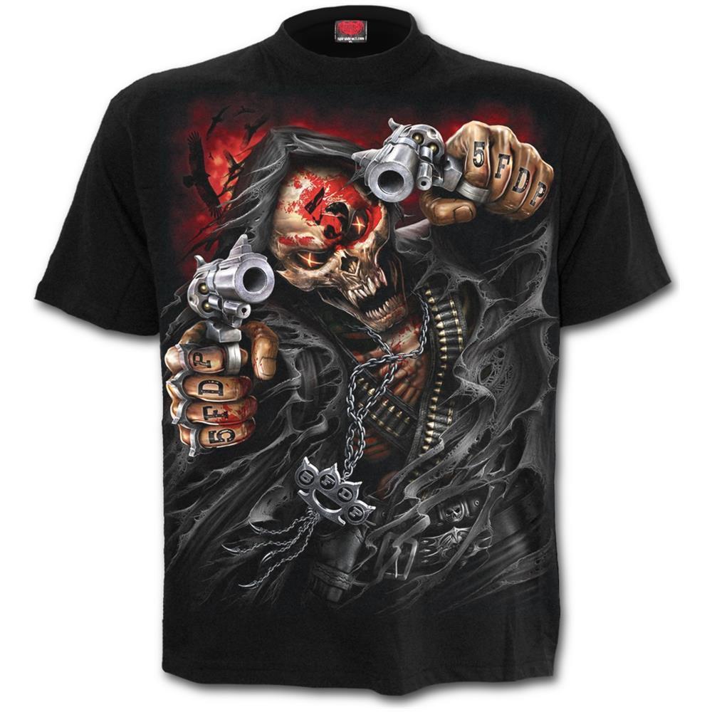 - 5Fdp - Assassin - Licensed Band Black (T-Shirt Unisex Tg. M)