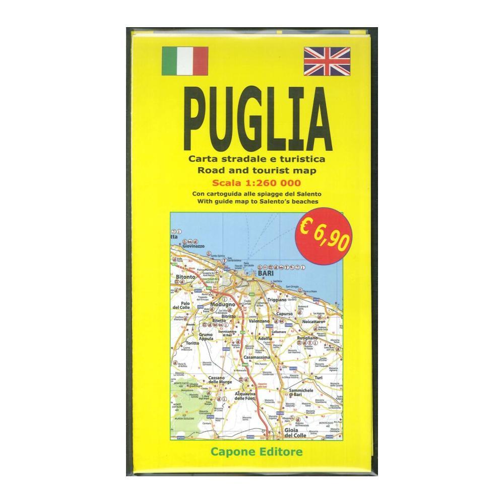 Cartina Puglia Geografica Salento