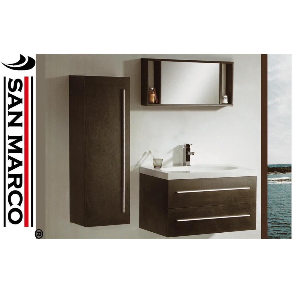 SAN MARCO - Mobile Bagno Lavabo Sospeso San Marco 915 Con Pensile ...