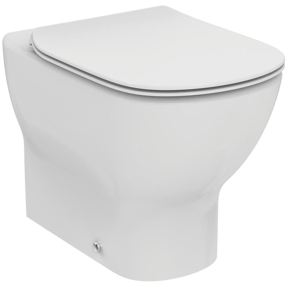 Sedile Tesi Ideal Standard Bianco Europa.Ideal Standard Vaso Filoparete Aquablade E Sedile Bianco Ideal Standard Tesi T353701 Eprice