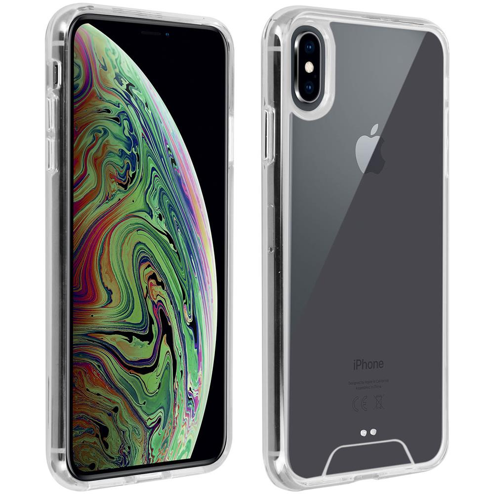 Avizar - Cover Apple Iphone Xr Cover Crystal Bi-materia