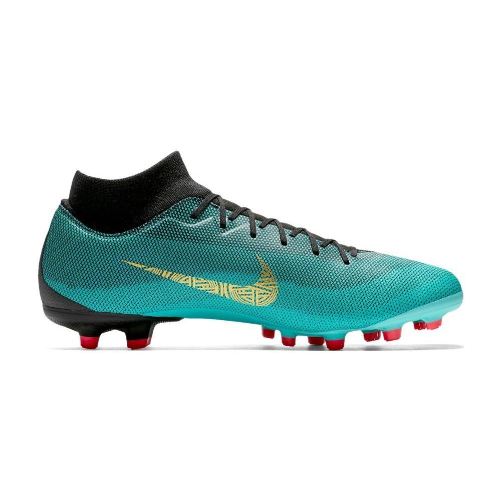 NIKE Scarpe Calcio Bambino Nike Mercurial Superfly Vi Elite Cr7 Fg Pride Of Portugal Pack Taglia 36 Colore: Verde rosso