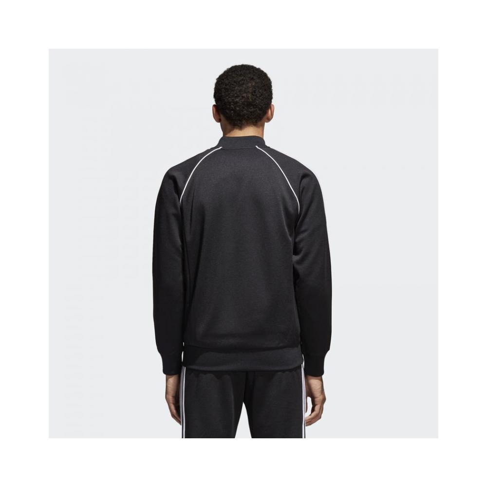 adidas Giubbino Giubbotto Giacca Uomo Adidas Track Jacket Sst Cw1256 Cotone Pe New Taglia M Colore Nero