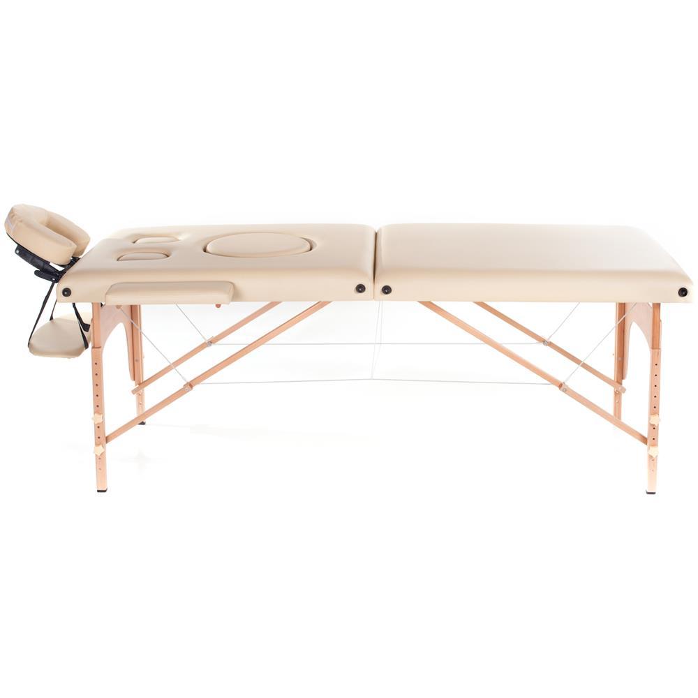 Lettino Massaggio In Legno.San Marco Lettino Da Massaggio In Legno A 2 Zone Pre Maman Eprice