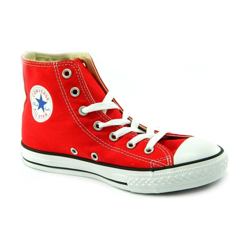 converse all star alte donna rosse