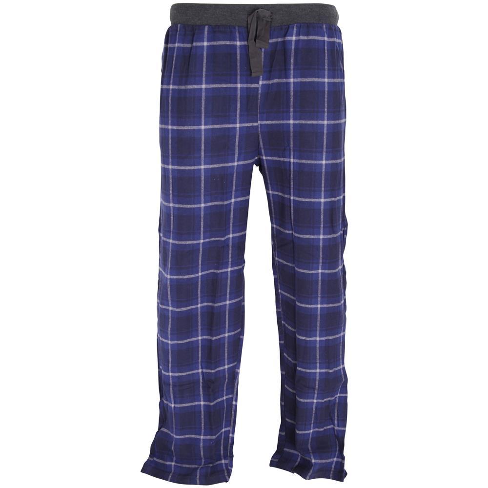 A Con Motivo Per Foxbury Pantalone Uomoxxlblu Pigiama Scacchi AL543Rj