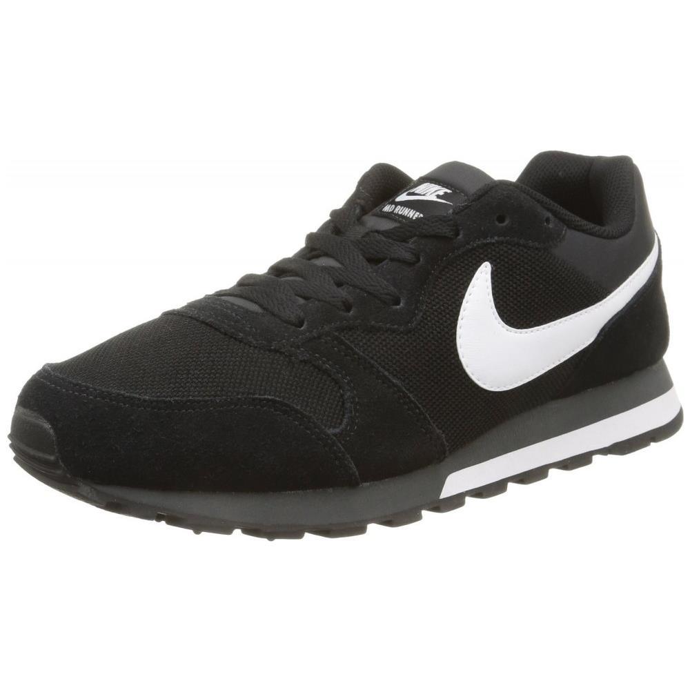 Nike Md Runner 2 Scarpe Sportive Uomo Nere Tela 749794 010 numero 47.5
