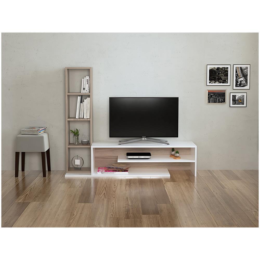 HOMIDEA - Peony Set Soggiorno - Parete Attrezzata - Mobile Tv Porta ...
