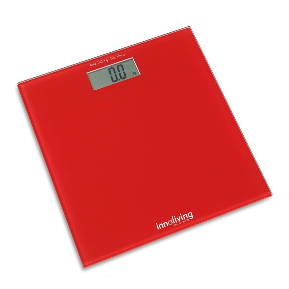 INNOLIVING Bilancia Digitale Pesapersone Ultraslim INN107W Portata Massima 180 Kg