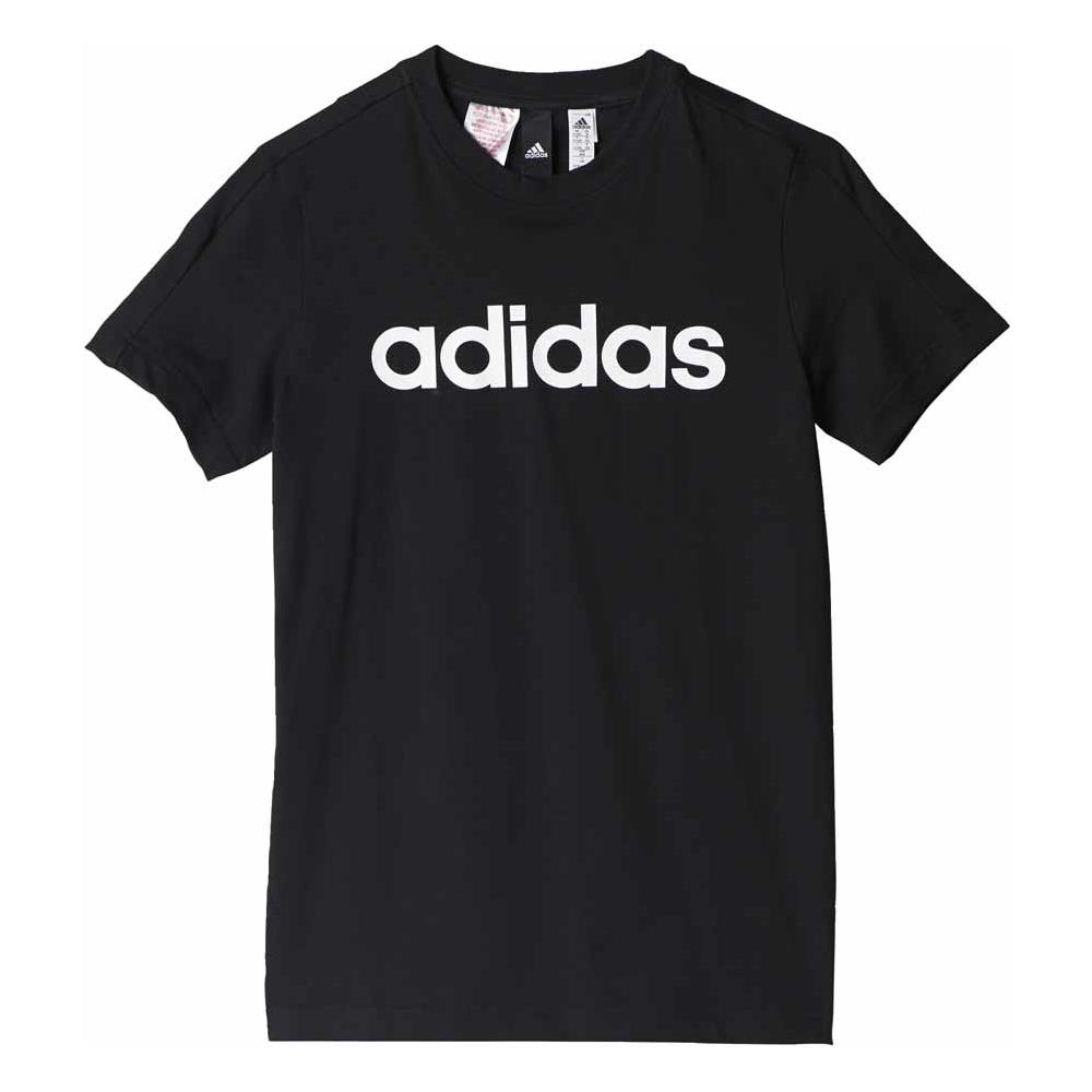innovative design c9df7 3cdf8 adidas - Magliette Adidas Essentials Linear S   s Abbigliamento Ragazzi  9-10 Years - ePRICE