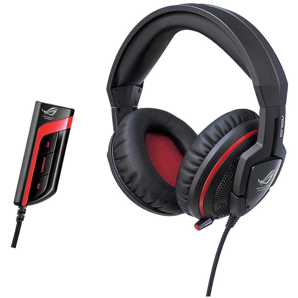 ASUS - ROG Orion Pro Cuffie Stereo con Microfono Gaming Connessione USB 2.5  m - Nero   Rosso - ePRICE 9a278453b80e