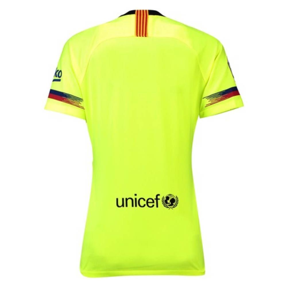68c07f1a32d NIKE 2018-2019 Barcelona Away Nike Ladies Shirt - L - UK Size 16/