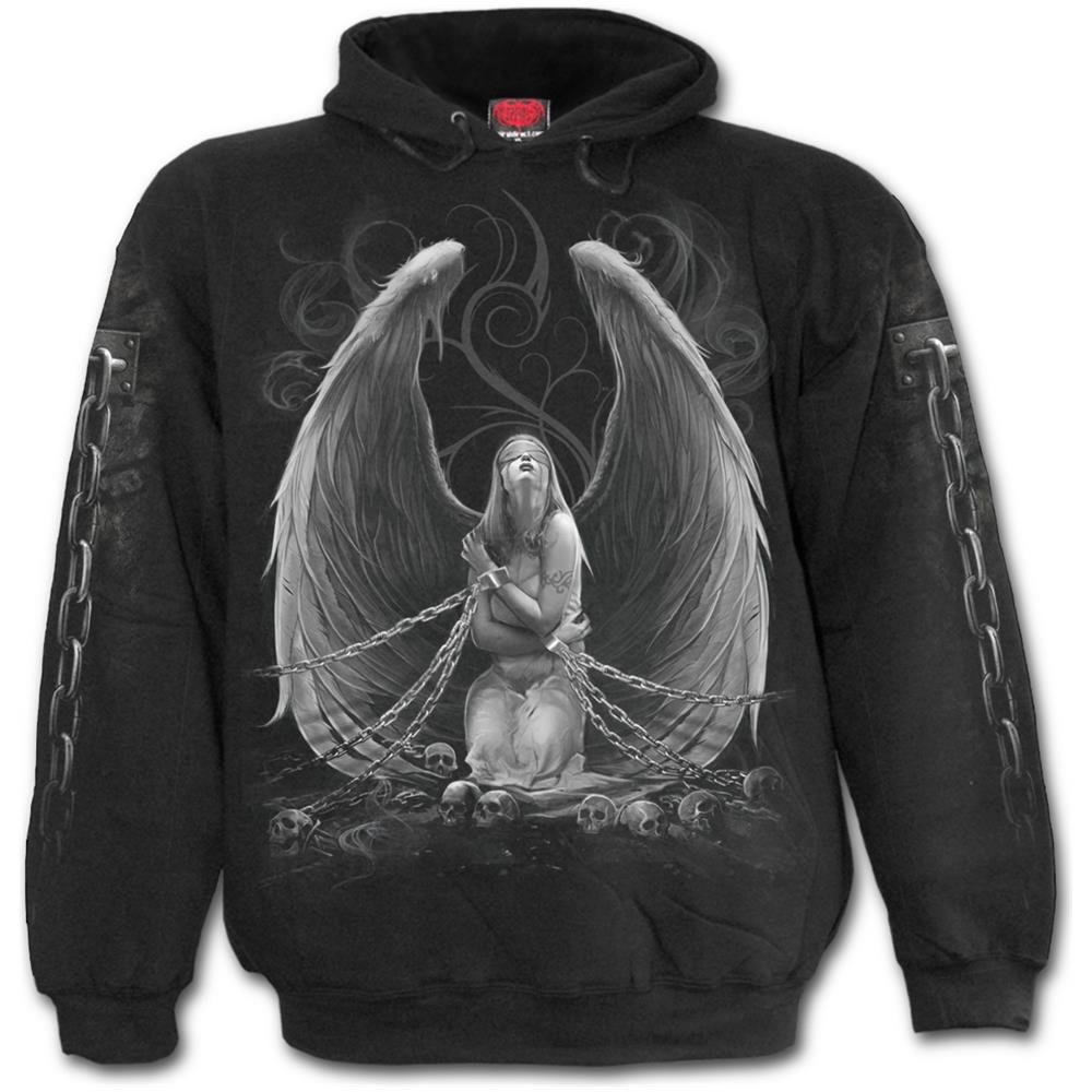 - Captive Spirit - Black (Felpa Con Cappuccio Unisex Tg. XL)