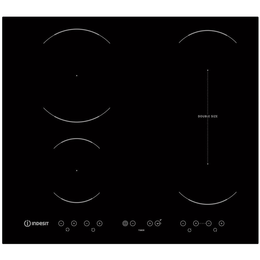 INDESIT - Piano Cottura VID 641 B C a Induzione 4 Zone Cottura da 60 ...