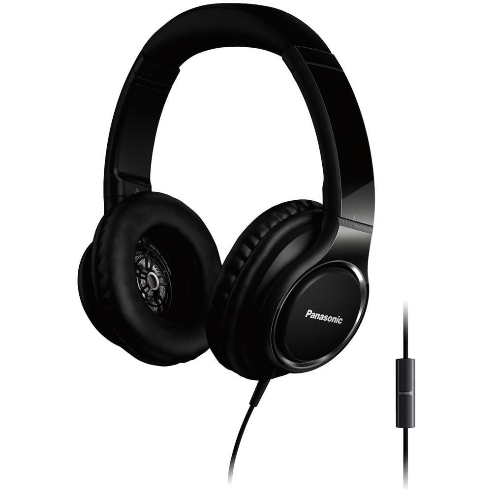 PANASONIC - Cuffie RP-HF100E-K On-Ear con con Microfono Colore Nero ... 30d0cb4854be