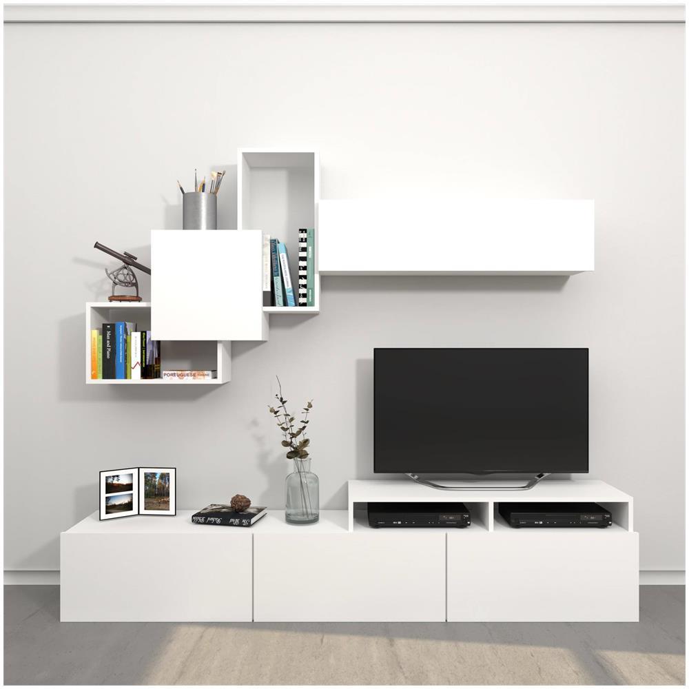 Mobili E Supporti Tv.Home Mania Mobile Porta Tv Origami Bianco Eprice