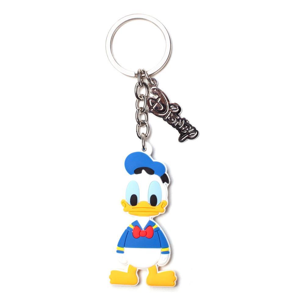 Disney - Donald Duck Rubber White (Portachiavi)