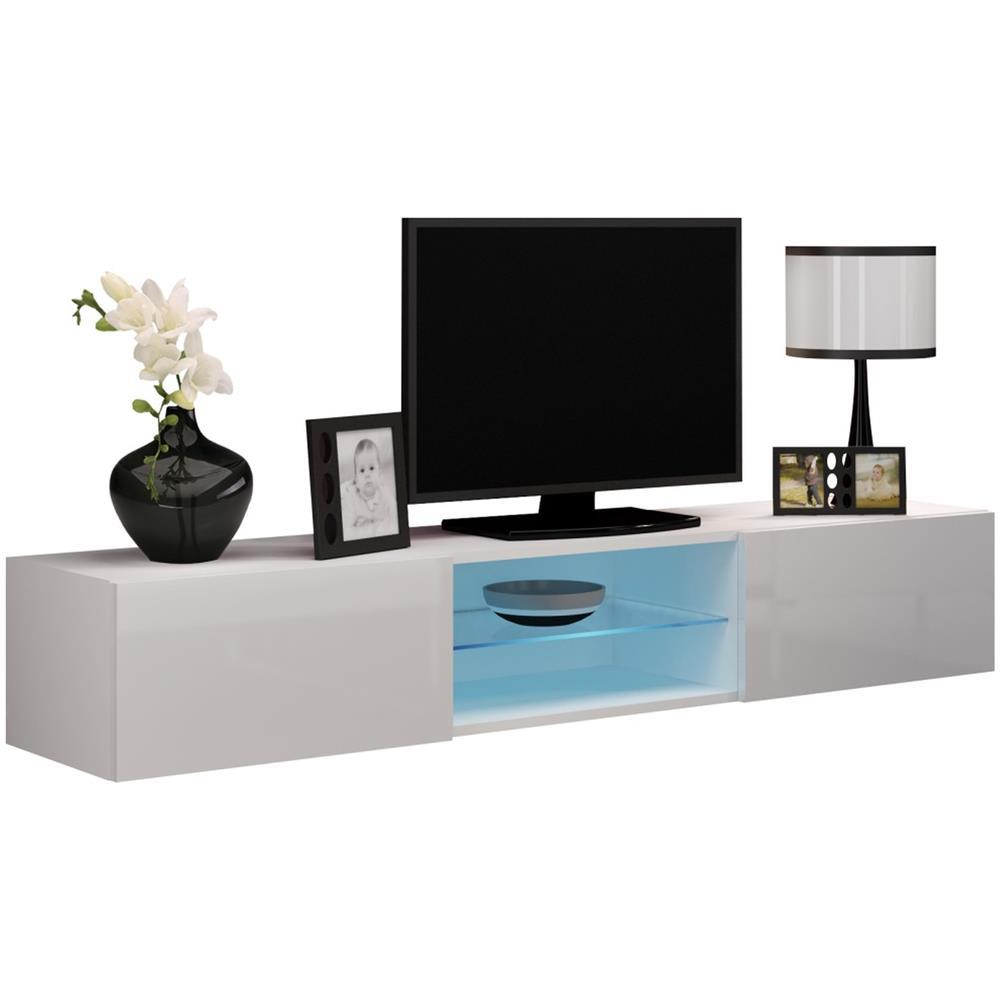JUSTyou - Vago Vetro Mobile Tv Bianco - ePRICE