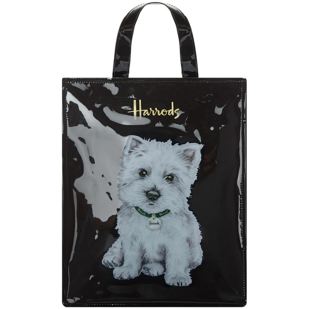 enorme sconto 90912 0f2b8 harrods Borsa Harrods Westie Puppy Medium Shopper Bag N. 744