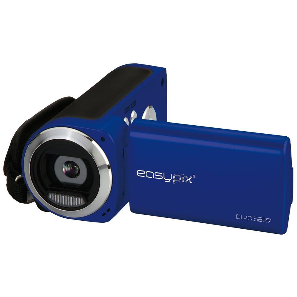 DVC5227 Flash Blu Sensore CMOS da 5Mpx Filmati in HD (720p) Display da 2.7''