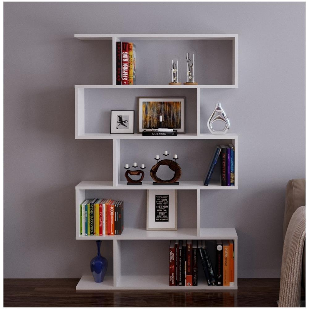 HOMIDEA - Core Libreria - Bianco - Scaffale Per Libri - Scaffale Per ...