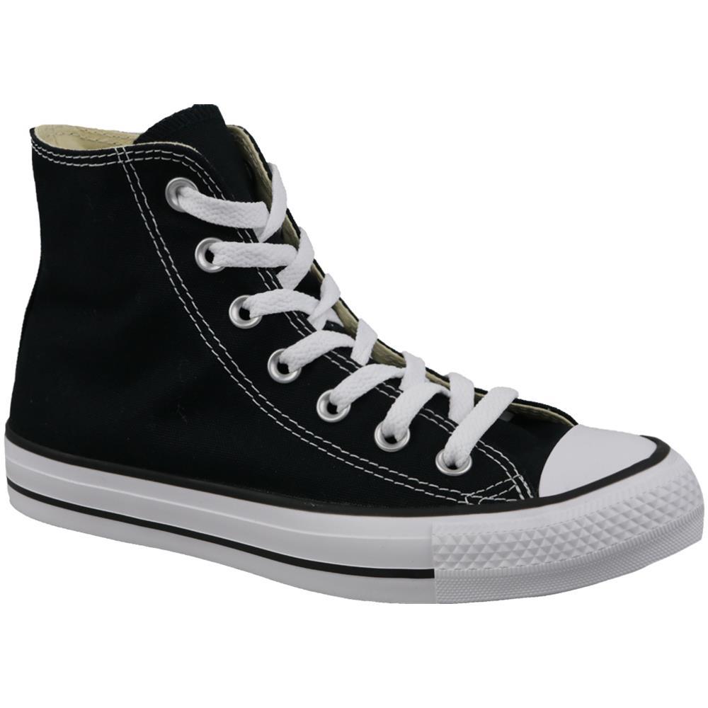 CONVERSE - Chuck Taylor All Star Core Hi Nero Sneakers Alte Unisex ...