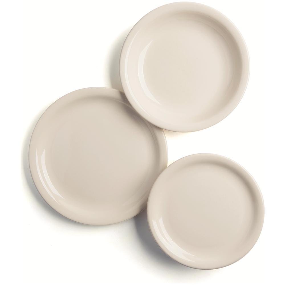 Excelsa Fascia Servizio Piatti 12 Pezzi Ceramica