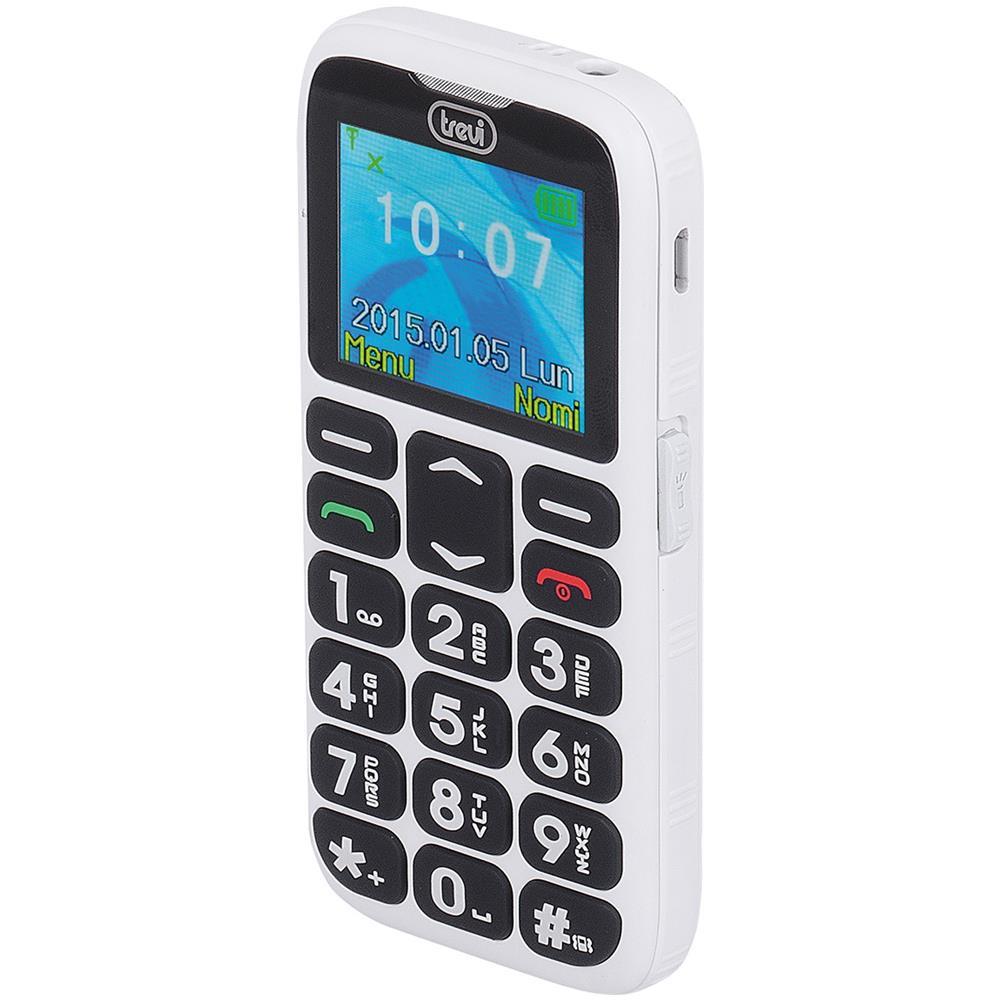 telefono cellulare per anziani tasti grandi samsung  TREVI - Telefono Cellulare Per Anziani Con Tasti Grandi Trevi Sicuro ...