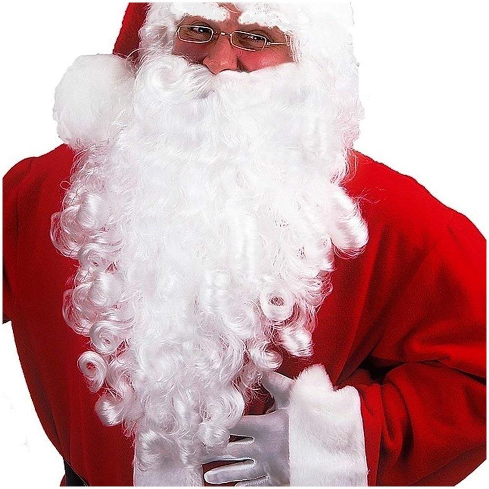 6d1b75b38c85c BAKAJI - Barba Bianca Babbo Natale Realistica Accessorio Vestito Santa Claus  Taglia Unica - ePRICE