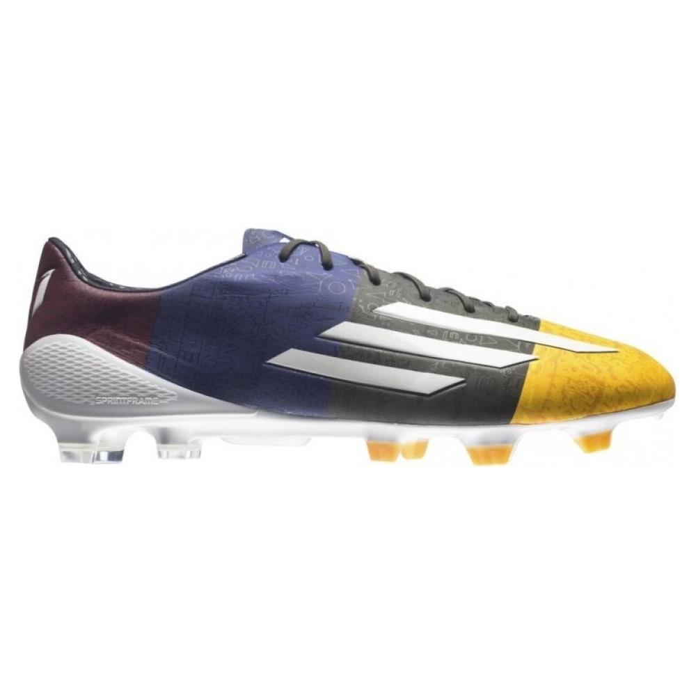 0b9a55dddd1d25 Adidas - Scarpe Calcio F50 Adizero Messi Trx Fg Arancio Blu 44 - ePRICE