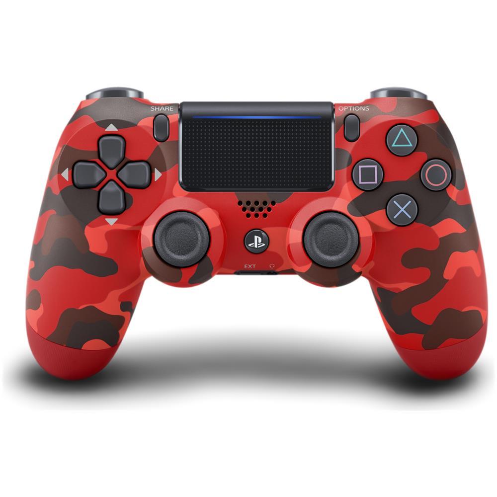 Controller Wireless Analogico / Digitale Bluetooth Playstation4 Dualshock Mimetico Rosso