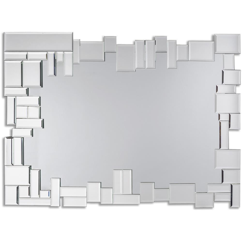 Specchio Da Parete Grande Con Cornice.Dekoarte Specchio Moderno Da Parete Decorativo Grande Con Cornice