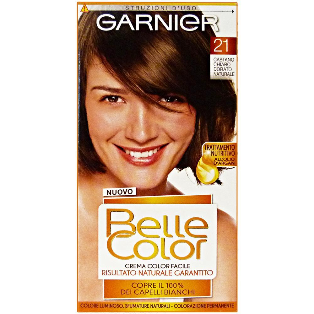 Belle Color 21 Castano Chiaro Dorato Naturale Prodotti Per Capelli