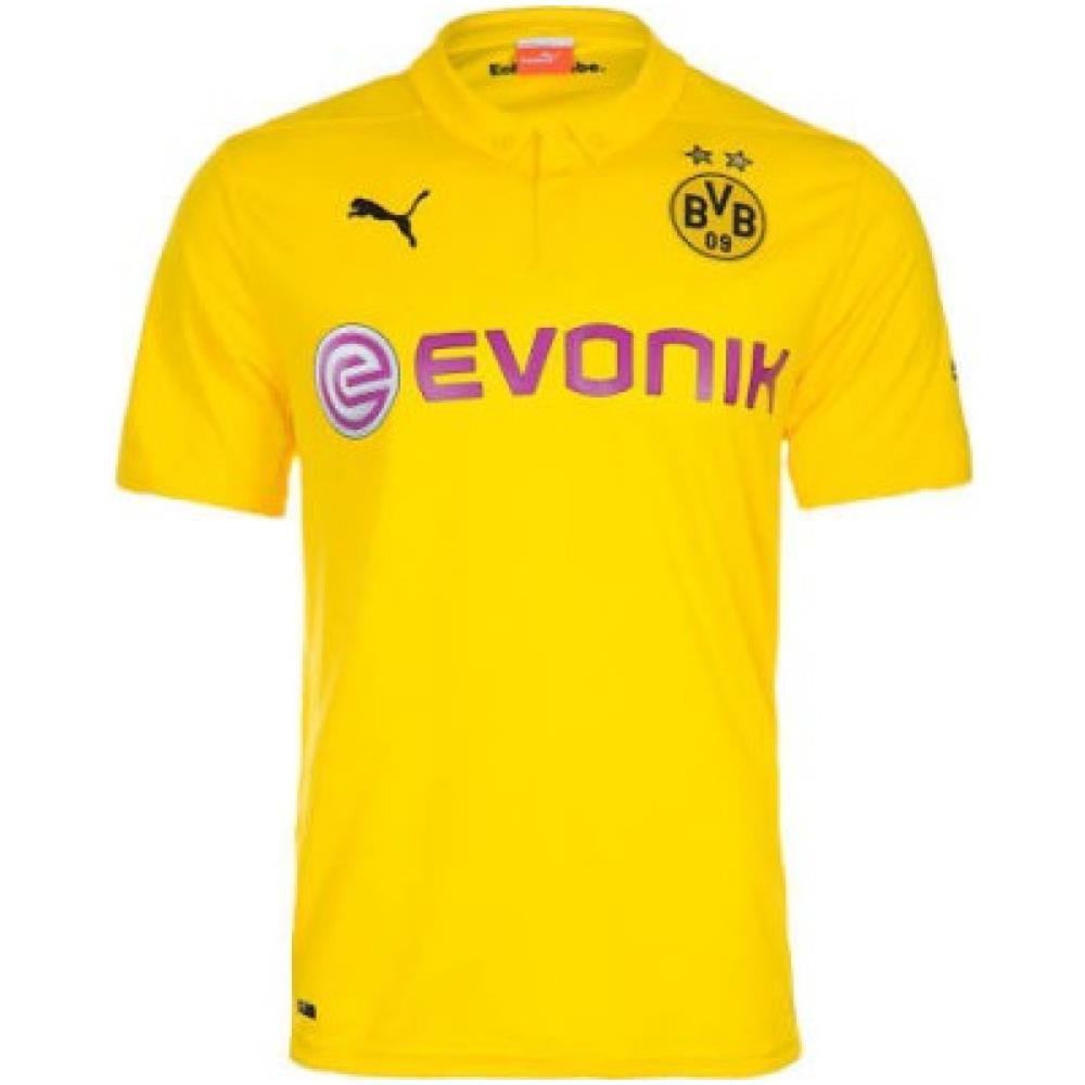 Puma Maglia Borussia Dortmund Champions Home 14/15 Giallo Nero Xl