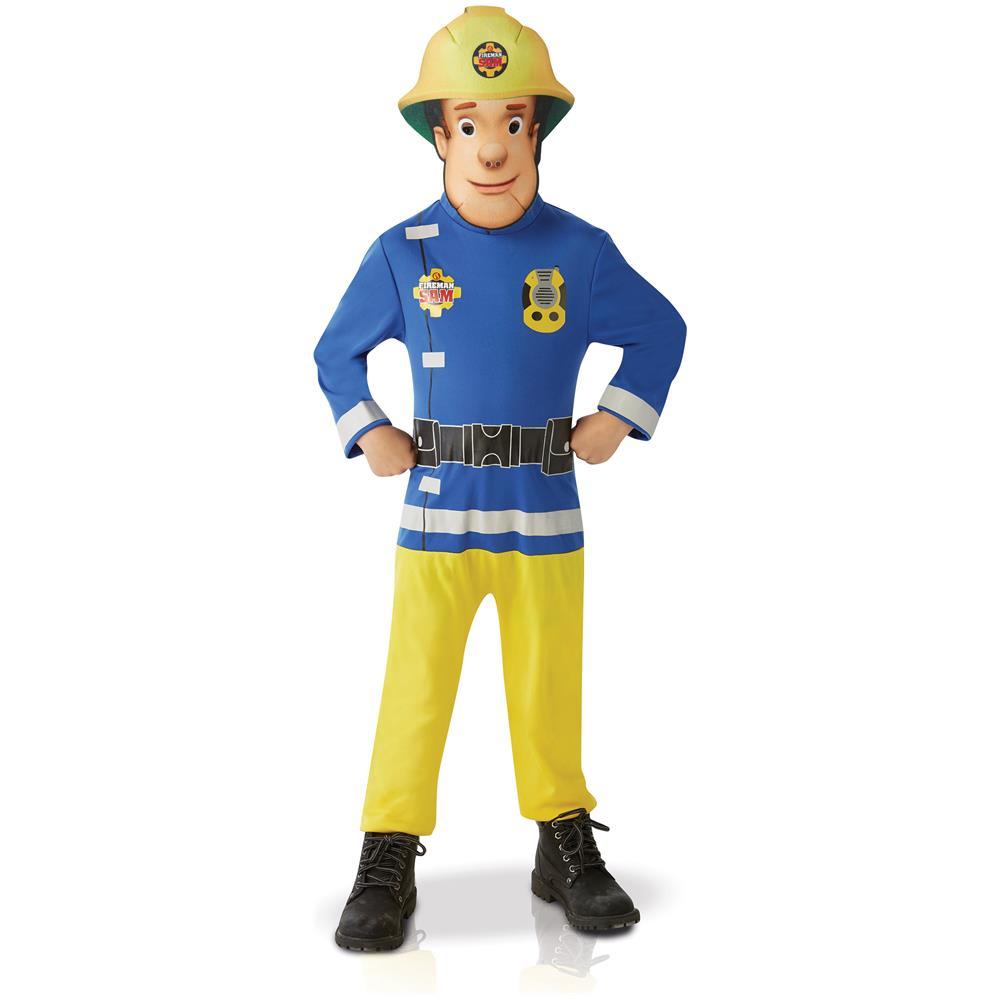 goditi la spedizione in omaggio 2019 professionista diversamente BCI Costume Classico Sam Il Pompiere Bambino 3 A 4 Anni