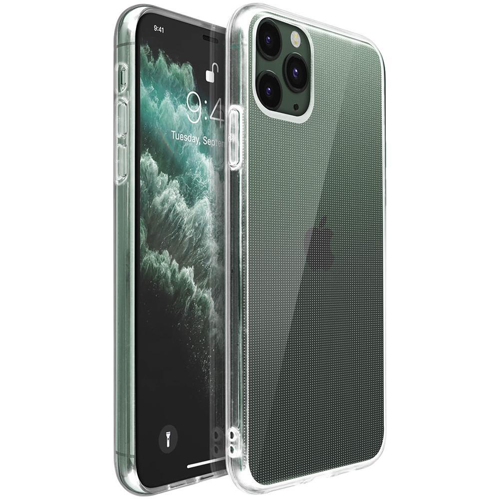 Avizar Cover Apple Iphone 11 Pro Max Protezione Silicone Morbido Antishock Trasparente Eprice