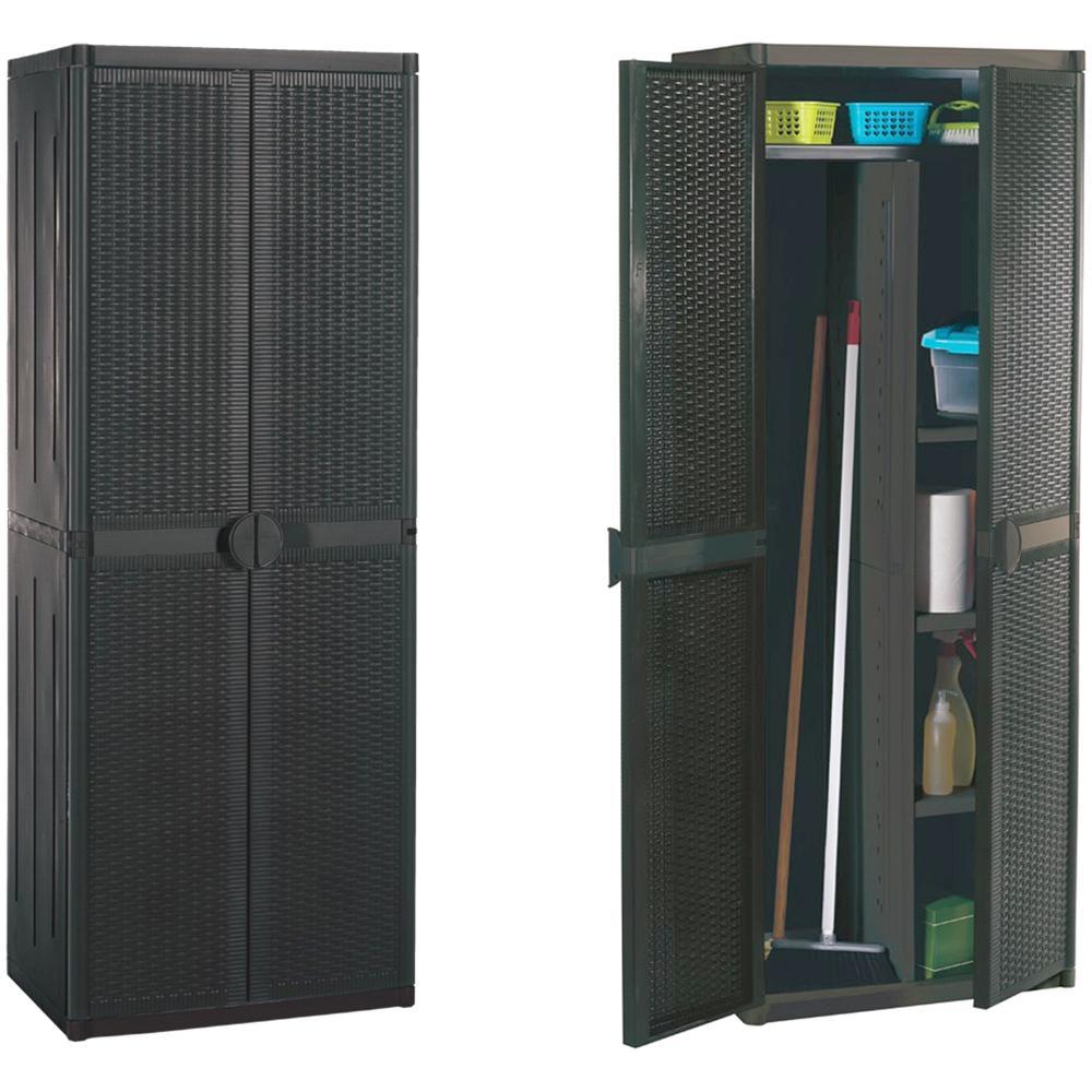 Gnp - Mobile Porta Scope Rattan 65x45x172 Pulizie - ePRICE